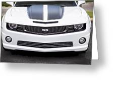 2012 Chevy Camaro Ss  Greeting Card