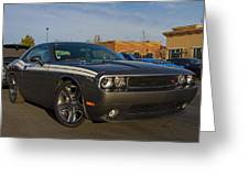 2012 Dodge Challenger R/t Classic Greeting Card