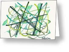2012 Drawing #34 Greeting Card