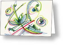 2012 Drawing #36 Greeting Card