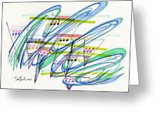 2012 Drawing #9 Greeting Card