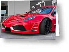 2012 Ferrari F-430 Greeting Card