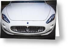 2012 Maserarti Gran Turismo S Greeting Card
