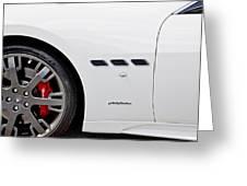 2012 Maserati Gran Turismo S Greeting Card