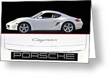 2012 Porsche Cayman R Greeting Card