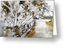 2013 007 Road To The Arlington Memorial Bridge Greeting Card