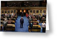 2013 Arizona Senate Portrait Greeting Card