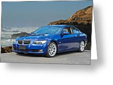 2013 Bmw 328i Sports Coupe Greeting Card
