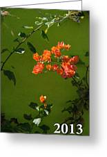 2013 Calendar Greeting Card