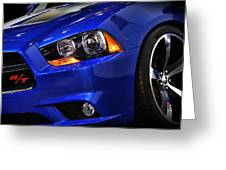 2013 Dodge Charger Daytona Greeting Card