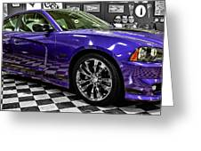 2013 Dodge Charger Greeting Card