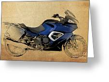 2013 Triumph Trophy Greeting Card