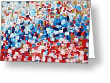 2014 31 Russian Flag Greeting Card