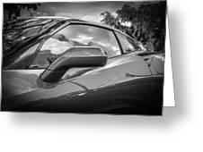 2014 Chevrolet Corvette C7 Bw     Greeting Card