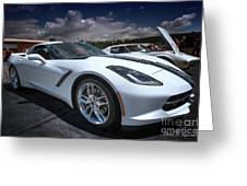 2014 Chevrolet Stingray Greeting Card