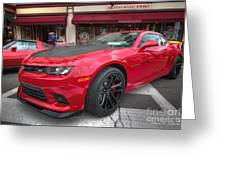 2014 Chevy Camaro Greeting Card