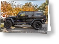 2014 Jeep Wrangler Sport Greeting Card