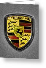 2014 Porsche Cayman S  Logo Greeting Card