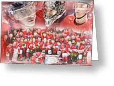 2014 Team Canada Greeting Card