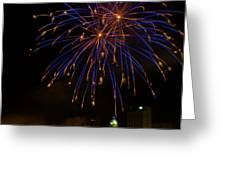 2014 Three Rivers Festival Fireworks Fairmont Wv 1 Greeting Card