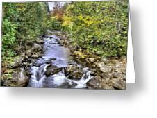 201409290-050 Hudson River Origin 2x3 Greeting Card