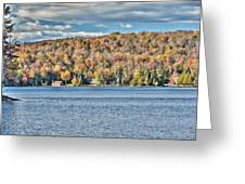 201410020-036d1 Autumn Forest North Shore Hdr1 2x3 Greeting Card
