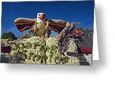 2015 Cal Poly Rose Parade Float 15rp055 Greeting Card