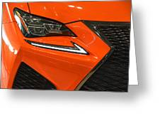 2015 Lexus Front End Greeting Card