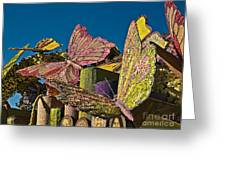 2015 Rose Parade Float Of Butterflies 15rp045 Greeting Card