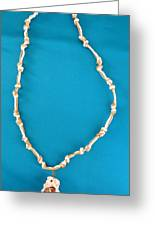 Aphrodite Gamelioi Necklace Greeting Card