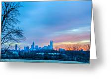Charlotte Downtown  Greeting Card