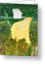 21 Room House On Golden Lake Dream Greeting Card
