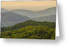 Scenery Around Lake Jocasse Gorge Greeting Card