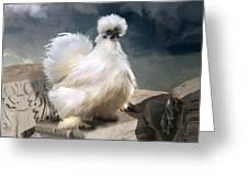 21. Silkie Akropolis Greeting Card