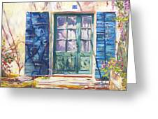 213 Rue De Provence Greeting Card