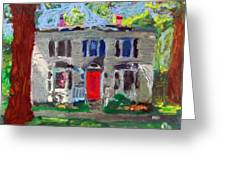22 Atlantic Ave Greeting Card by Greg Mason Burns