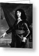 Charles II (1630-1685) Greeting Card