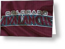 Colorado Avalanche Greeting Card