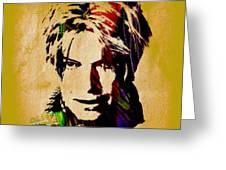 David Bowie Collection Greeting Card