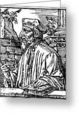 John Wycliffe (1320?-1384) Greeting Card