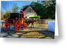 Williamsburg Virginia Usa Greeting Card