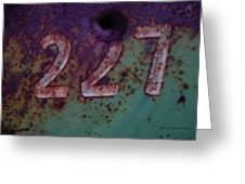 227 Greeting Card