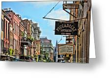 228 Charters New Orleans Greeting Card