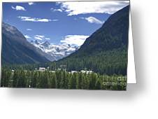 Alpine Village Greeting Card