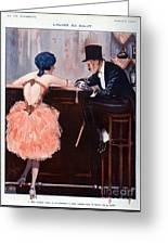 La Vie Parisienne  1920 1920s France Greeting Card by The Advertising Archives
