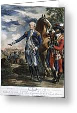 Marquis De Lafayette Greeting Card