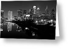 23 Th Street Bridge Philadelphia Greeting Card by Louis Dallara
