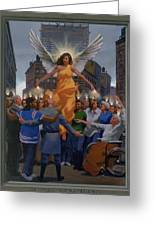 23. The Holy Spirit Arrives / From The Passion Of Christ - A Gay Vision Greeting Card