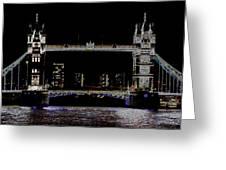 Tower Bridge Art Greeting Card