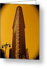 23rd Street And Broadway Greeting Card